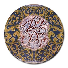 Panic! At The Disco Round Mousepads by Onesevenart