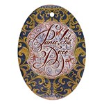 Panic! At The Disco Ornament (Oval)