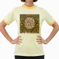 Panic! At The Disco Women s Fitted Ringer T Shirts by Onesevenart
