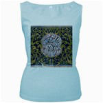 Panic! At The Disco Women s Baby Blue Tank Top
