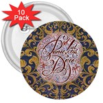 Panic! At The Disco 3  Buttons (10 pack)
