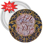 Panic! At The Disco 3  Buttons (100 pack)