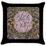 Panic! At The Disco Throw Pillow Case (Black)