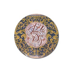 Panic! At The Disco Magnet 3  (round) by Onesevenart