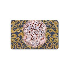 Panic! At The Disco Magnet (name Card) by Onesevenart