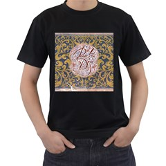 Panic! At The Disco Men s T Shirt (black) (two Sided) by Onesevenart
