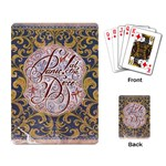 Panic! At The Disco Playing Card