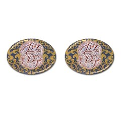 Panic! At The Disco Cufflinks (oval) by Onesevenart