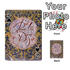 Panic! At The Disco Playing Cards 54 Designs  by Onesevenart