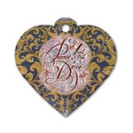 Panic! At The Disco Dog Tag Heart (One Side)