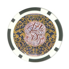 Panic! At The Disco Poker Chip Card Guards by Onesevenart