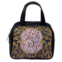 Panic! At The Disco Classic Handbags (one Side) by Onesevenart
