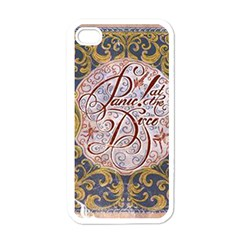 Panic! At The Disco Apple Iphone 4 Case (white) by Onesevenart