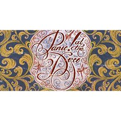 Panic! At The Disco You Are Invited 3d Greeting Card (8x4) by Onesevenart