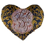 Panic! At The Disco Large 19  Premium Heart Shape Cushions