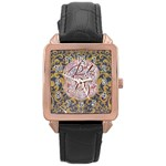 Panic! At The Disco Rose Gold Leather Watch