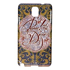 Panic! At The Disco Samsung Galaxy Note 3 N9005 Hardshell Case by Onesevenart