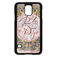 Panic! At The Disco Samsung Galaxy S5 Case (black) by Onesevenart