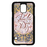 Panic! At The Disco Samsung Galaxy S5 Case (Black)