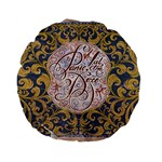 Panic! At The Disco Standard 15  Premium Flano Round Cushions