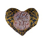 Panic! At The Disco Standard 16  Premium Flano Heart Shape Cushions