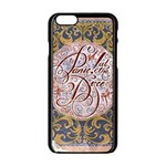 Panic! At The Disco Apple iPhone 6/6S Black Enamel Case