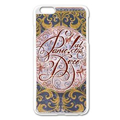 Panic! At The Disco Apple Iphone 6 Plus/6s Plus Enamel White Case by Onesevenart