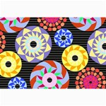 Colorful Retro Circular Pattern Collage Prints 18 x12 Print - 1
