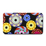 Colorful Retro Circular Pattern Medium Bar Mats