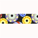 Colorful Retro Circular Pattern Large Bar Mats 34 x9.03 Bar Mat - 1