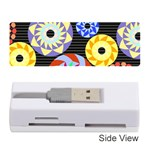 Colorful Retro Circular Pattern Memory Card Reader (Stick)