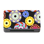 Colorful Retro Circular Pattern Memory Card Reader with CF