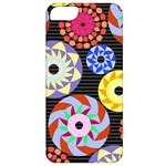 Colorful Retro Circular Pattern Apple iPhone 5 Classic Hardshell Case