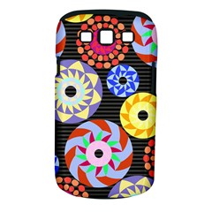Colorful Retro Circular Pattern Samsung Galaxy S Iii Classic Hardshell Case (pc+silicone) by DanaeStudio