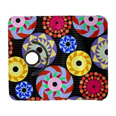 Colorful Retro Circular Pattern Samsung Galaxy S  Iii Flip 360 Case by DanaeStudio