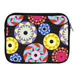 Colorful Retro Circular Pattern Apple iPad 2/3/4 Zipper Cases