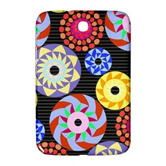 Colorful Retro Circular Pattern Samsung Galaxy Note 8 0 N5100 Hardshell Case  by DanaeStudio
