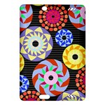 Colorful Retro Circular Pattern Amazon Kindle Fire HD (2013) Hardshell Case