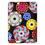 Colorful Retro Circular Pattern Kindle Fire HDX Hardshell Case