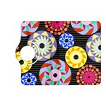 Colorful Retro Circular Pattern Kindle Fire HD (2013) Flip 360 Case Front