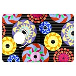Colorful Retro Circular Pattern Kindle Fire HDX Flip 360 Case