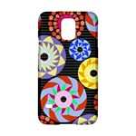 Colorful Retro Circular Pattern Samsung Galaxy S5 Hardshell Case