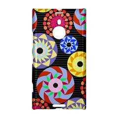 Colorful Retro Circular Pattern Nokia Lumia 1520 by DanaeStudio