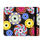Colorful Retro Circular Pattern Samsung Galaxy Tab Pro 8.4  Flip Case