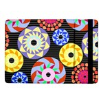 Colorful Retro Circular Pattern Samsung Galaxy Tab Pro 10.1  Flip Case