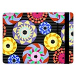 Colorful Retro Circular Pattern Samsung Galaxy Tab Pro 12.2  Flip Case