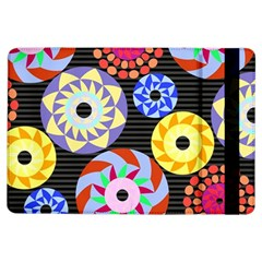 Colorful Retro Circular Pattern Ipad Air Flip by DanaeStudio