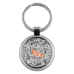 Paramore Is An American Rock Band Key Chains (round)  by Onesevenart