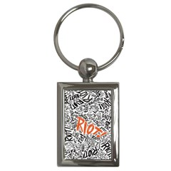 Paramore Is An American Rock Band Key Chains (rectangle)  by Onesevenart