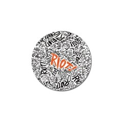 Paramore Is An American Rock Band Golf Ball Marker (4 Pack) by Onesevenart